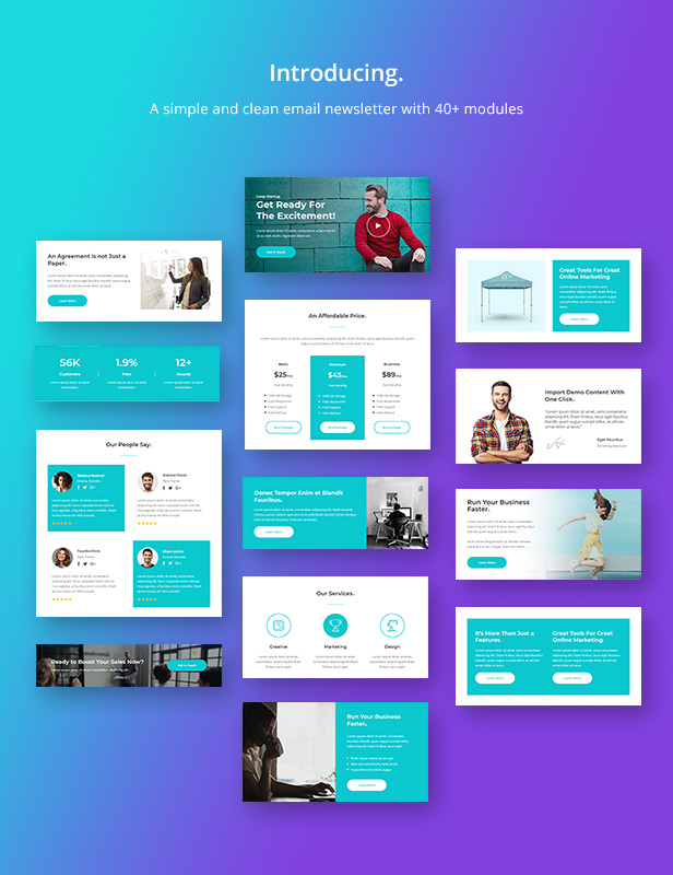 Loop - Multipurpose Responsive Email Newsletter Template - 1