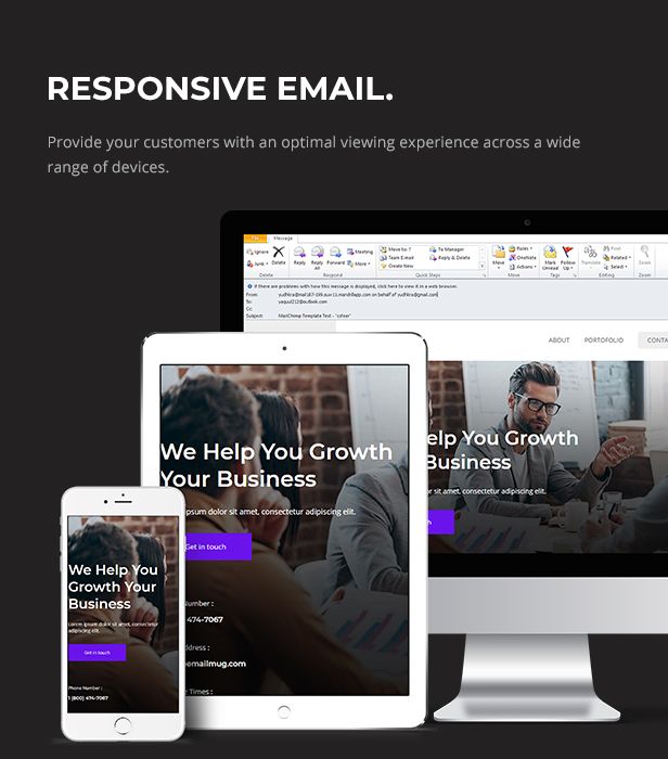 Loop - Multipurpose Responsive Email Newsletter Template - 2